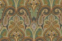 Waverly CASHMERE JEWEL 680150 Paisley Embroidered Upholstery And Drapery Fabric