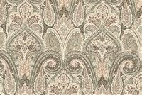 Waverly CASHMERE BLUSH 680151 Paisley Embroidered Upholstery And Drapery Fabric