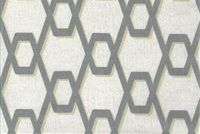 Magnolia Home Fashions RHYTHM METAL Lattice Print Fabric