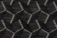6704312 GAYLE CHARCOAL Geometric Chenille Upholstery Fabric
