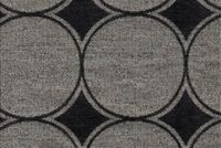6704912 MILLER CHARCOAL Dot and Polka Dot Chenille Upholstery Fabric