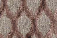 6705713 LARAS VELVET DIAMOND MINK Lattice Velvet Upholstery Fabric