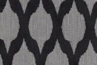 6705716 LARAS VELVET DIAMOND CHARCOAL Lattice Velvet Upholstery Fabric