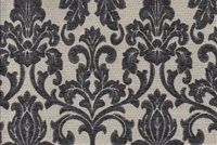 6706014 HOTEL A SLATE Floral Jacquard Upholstery Fabric