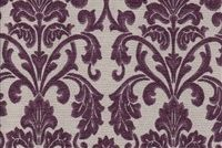 6706019 HOTEL A PLUM Floral Jacquard Upholstery Fabric