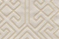 6706513 ARIEL A CREAM Geometric Jacquard Upholstery And Drapery Fabric