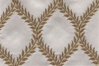 6706811 GARNET A CREAM Floral Jacquard Upholstery And Drapery Fabric