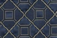 6706915 GARNET B NAVY Diamond Jacquard Upholstery And Drapery Fabric