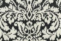 Waverly DASHING DAMASK SWA GRAPHITE 6805 Floral Print Upholstery And Drapery Fabric
