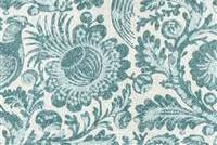Williamsburg TUCKER RESIST SWA FLINT 750651 Floral Print Upholstery And Drapery Fabric