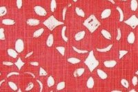 6712611 LASINE RASPBERRY Print Upholstery And Drapery Fabric