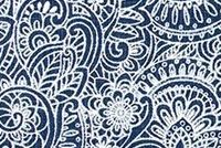 6714911 SONNET ITALIAN DENIM Floral Print Upholstery And Drapery Fabric