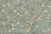 Richloom TOPIARY MIST Floral Linen Blend Drapery Fabric