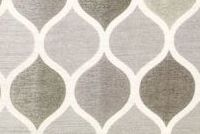 Richloom RIGA SILVER Lattice Jacquard Drapery Fabric