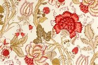 Richloom MAISON ROSE Floral Print Upholstery And Drapery Fabric
