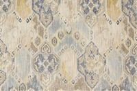 Richloom PRESCOTT BLUESTONE Contemporary Linen Blend Upholstery And Drapery Fabric