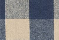 Ellen Degeneres CLAIBORNE CHECK INDIGO 250453 Buffalo Check Linen Blend Upholstery And Drapery Fabric