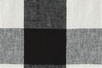 Ellen Degeneres CLAIBORNE CHECK DOMINO 250452 Buffalo Check Linen Blend Fabric