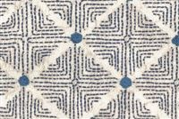 Ellen Degeneres WILSHIRE NAVY 250310 Lattice Embroidered Fabric