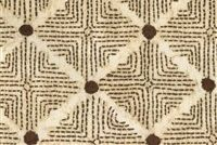 Ellen Degeneres WILSHIRE MOCHA 250312 Lattice Embroidered Fabric