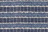 Waverly ADMIRAL STRIPE BALTIC 680100 Stripe Jacquard Upholstery And Drapery Fabric