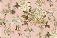 Waverly MUDAN C BLUSH 680140 Floral Print Upholstery And Drapery Fabric
