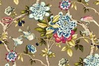 Waverly MUDAN C JEWEL 680142 Floral Print Upholstery And Drapery Fabric