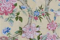 Waverly MUDAN C LEMON 681951 Floral Print Upholstery And Drapery Fabric
