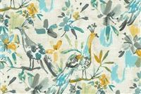 Kelly Ripa Home FLORA FLAUNT POOL 550242 Print Upholstery And Drapery Fabric