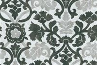Waverly SNS ANIKA ONYX 680311 Floral Indoor Outdoor Upholstery Fabric