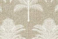 Tommy Bahama Home PALM LIFE TWINE 801912 Tropical Print Upholstery And Drapery Fabric