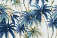 Tommy Bahama Home TBO ARTISAN PALMS NIGHT SWIM 801 Tropical Indoor Outdoor Upholstery Fabric