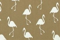Covington SD-FLAMINGO 112 ECRU Tropical Indoor Outdoor Upholstery Fabric