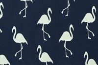 Covington SD-FLAMINGO 557 DARK DENIM Tropical Indoor Outdoor Upholstery Fabric