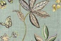 P Kaufmann BUTTERFLY TRAIL SWA 003 ROBINS E Floral Print Upholstery And Drapery Fabric