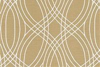 Scott Living Fabrics BARGELLO SANDALWOOD Contemporary Linen Blend Fabric