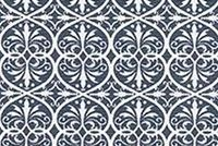 Scott Living Fabrics BOSCO SAPPHIRE Lattice Linen Blend Upholstery And Drapery Fabric
