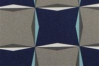 Scott Living Fabrics KALEI CYAN Contemporary Linen Blend Fabric