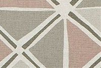 Scott Living Fabrics IAN ROSE QUARTZ Lattice Linen Blend Upholstery And Drapery Fabric