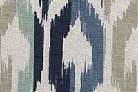 Scott Living Fabrics DISTANCE TARRAZO Ikat Linen Blend Upholstery And Drapery Fabric