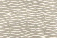 Scott Living Fabrics PANAMA PORCELAIN Geometric Linen Blend Fabric