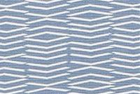 Scott Living Fabrics PANAMA TARRAZO BLUE Geometric Linen Blend Upholstery And Drapery Fabric