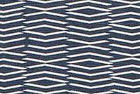 Scott Living Fabrics PANAMA TARRAZO NAVY Geometric Linen Blend Upholstery And Drapery Fabric