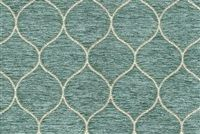 6743512 JUDITH MIST Lattice Chenille Upholstery Fabric