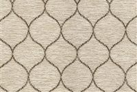 6743513 JUDITH VANILLA Lattice Chenille Upholstery Fabric