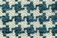 6743615 KIKI TURQUOISE Houndstooth Upholstery Fabric