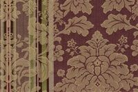 6746316 RENAISSANCE A VIOLET Floral Jacquard Upholstery And Drapery Fabric