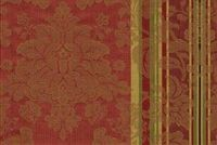 6746318 RENAISSANCE A RED Floral Jacquard Upholstery And Drapery Fabric