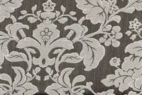 6746414 RENAISSANCE B BLACK/WHITE Floral Jacquard Upholstery And Drapery Fabric