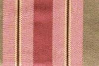 6746515 RENAISSANCE C ROSE Stripe Jacquard Upholstery And Drapery Fabric